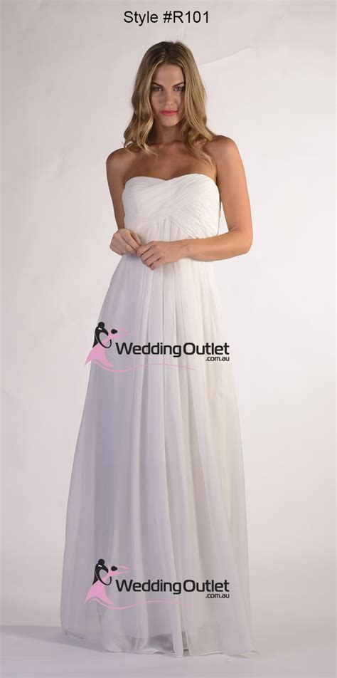 Watermelon strapless bridesmaid dresses style #R101