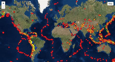 Earthquakes And Volcanoes Around The World Stem Resource