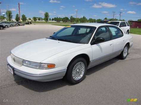 Interior Silver Paint Bright White 1997 Chrysler Lhs Sedan Exterior Photo