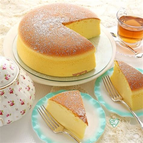 light fluffy cake recipe jiggly fluffy japanese cheesecake tasty recipes