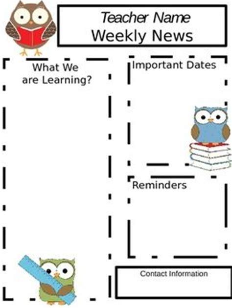 newsletter templates on pinterest | newsletter templates