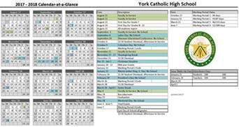 2018 Year At A Glance Calendar 2018 Calendar At A Glance 2018 Calendar Printable