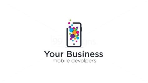 logo mobili mobile app on 99designs logo store 99designs