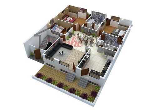 house design ideas floor plans 3d 3d floor plans 3d house design 3d house plan customized