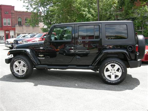 car jeep black jeep wrangler unlimited sahara black www pixshark com