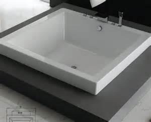 Hansgrohe Kitchen Faucets Reviews Slik Portfolio 63di63 Zendo Square Drop In Soaker Tub