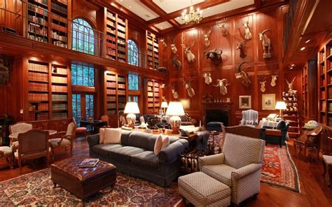 luxury library for home luxury homes with libraries for sale