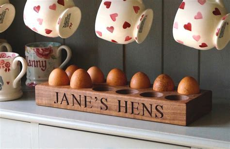 Personalised Wooden Egg Trays   MakeMeSomethingSpecial.com