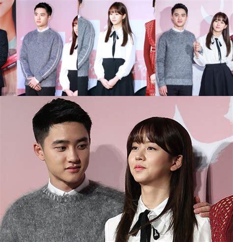 film do exo pure love d o exo gandeng mesra kim so hyun di konferensi pers film