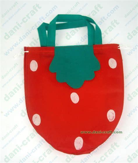 Tas Stobery tas strawberry serut tp12 souvenir pernikahan