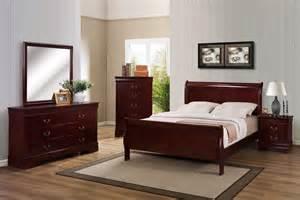 crown furniture louis philip bedroom set in cherry