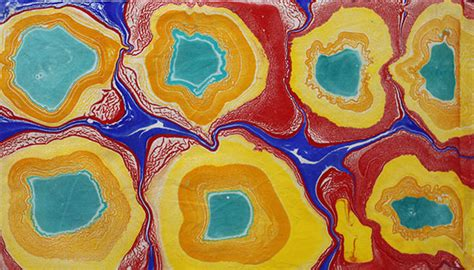 acrylic paint in fabric marbling with acrylic paint on fabric the working