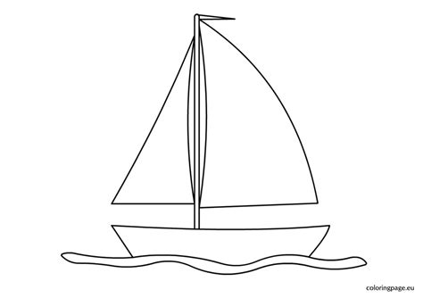 boat drawing pictures sailing boat clipart colouring picture pencil and in