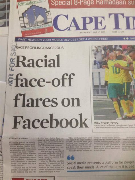 africa news news and headlines from south africa egypt listen to sa news respond to cape times star racial