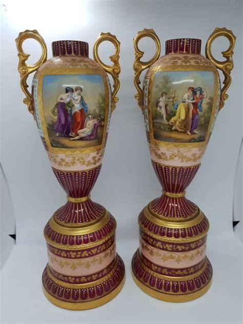 vasi di porcellana vasi di porcellana romantiche porcellana catawiki