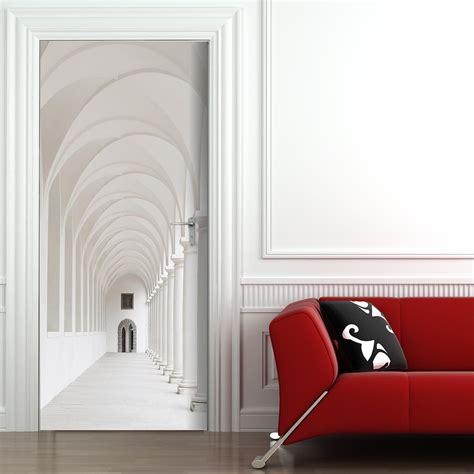 decorare porte interne decorare le porte interne con fantasia con adesivi o carta