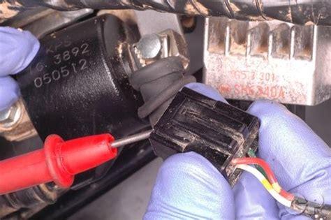honda crf    electrical testing wiring diagram