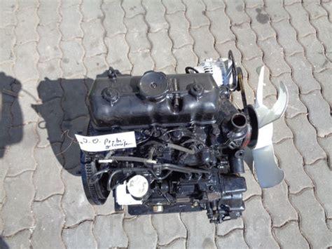 diesel engine mitsubishi k3d 979 cc 21ps used