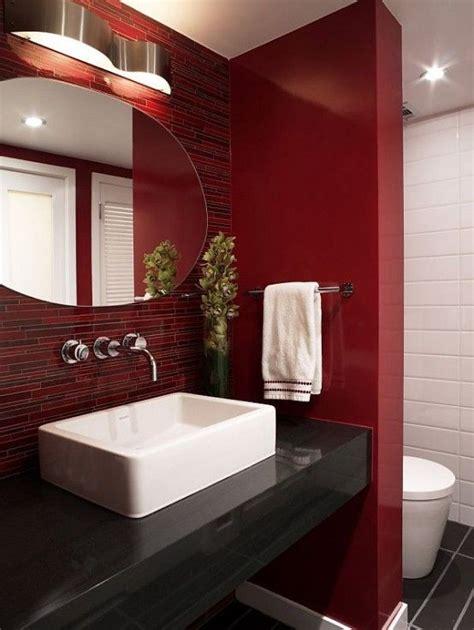ideas   marsala  bathroom decor digsdigs