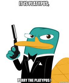 Perry The Platypus Meme - agent p