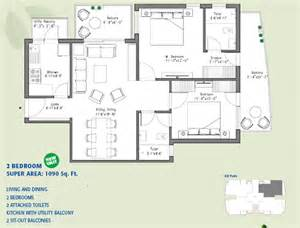ild spire greens gurgaon floor plan