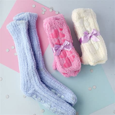soft slipper socks soft slipper socks gift set by solesmith