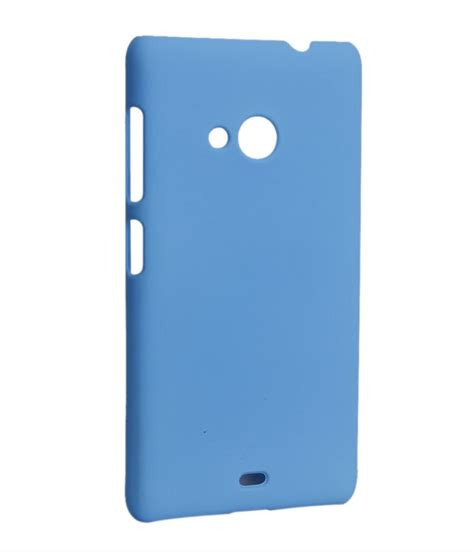 Back Cover Microsoft Lumia 535 hermit back cover for microsoft lumia 535 blue buy