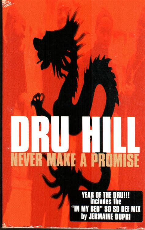 dru hill in my bed remix dru hill never make a promise cassette at discogs