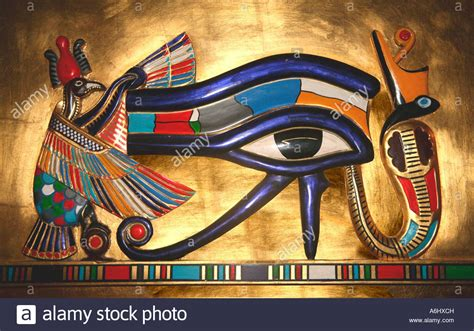 The Of Horus udjat the eye of horus the falcon god worshipped in
