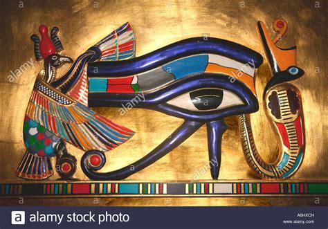 The Of Horus udjat the eye of horus the falcon god worshipped in