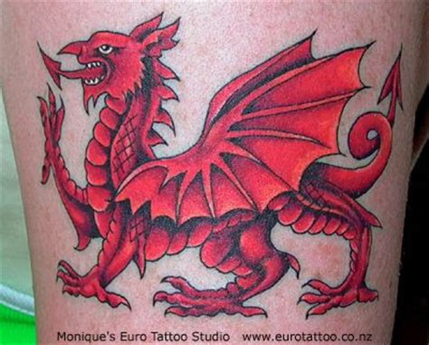 zimbio celebrity welsh dragon tattoo
