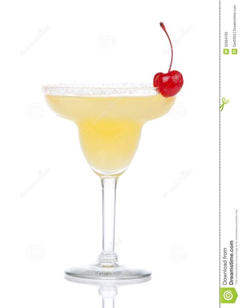 martini white yellow alcohol or martini cocktail isolated