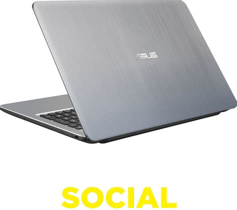 Asus Notebook X540lj Xx682d Silver asus x540 15 6 quot laptop silver deals pc world