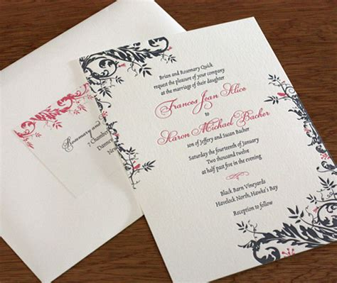 can you print labels for wedding invitations address labels for wedding invitation envelopes