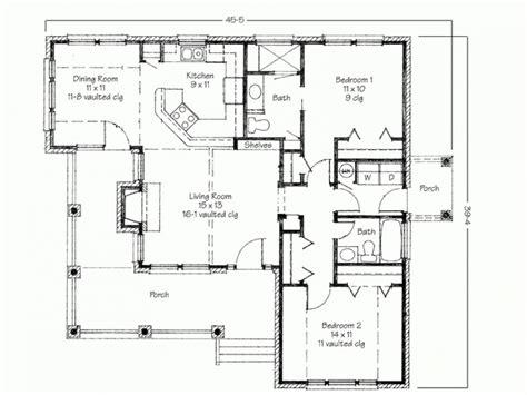 bedroom house simple floor plans house plans  bedroom flat simple small house plan