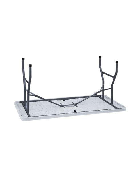 tavolo catering tavolo catering rettangolare pieghevole in polietilene cm