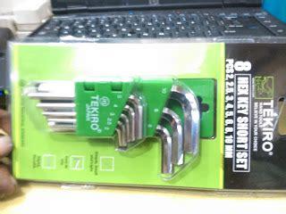 Kunci L Set Segi 8pcs Pendek Tekiro 2 10mm kunci l set pendek jual alat teknik auto tools terlengkap termurah majumandiriteknik
