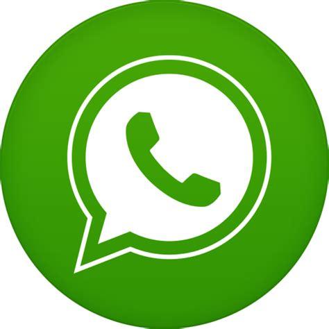 whats app logo whatsapp icon circle iconset martz90