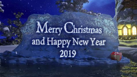 merry christmas  happy  year   years greeting youtube
