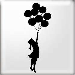 Banksy Stencil Templates by Banksy Stencils Banksy Style Balloon 2 Reusable