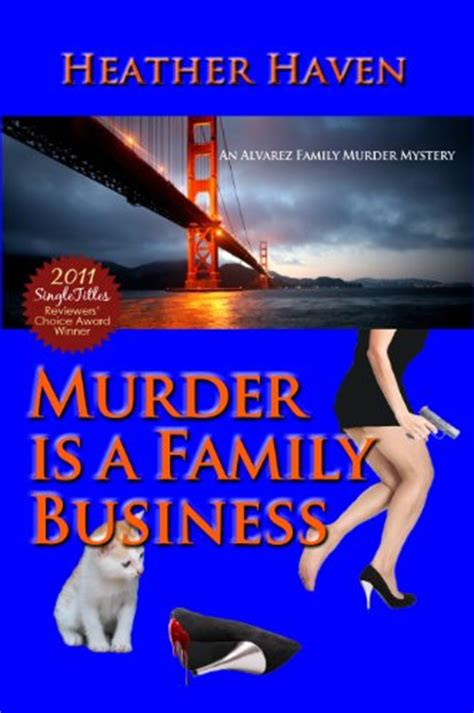 murder at an wedding an mystery books book review murder is a family business the alvarez