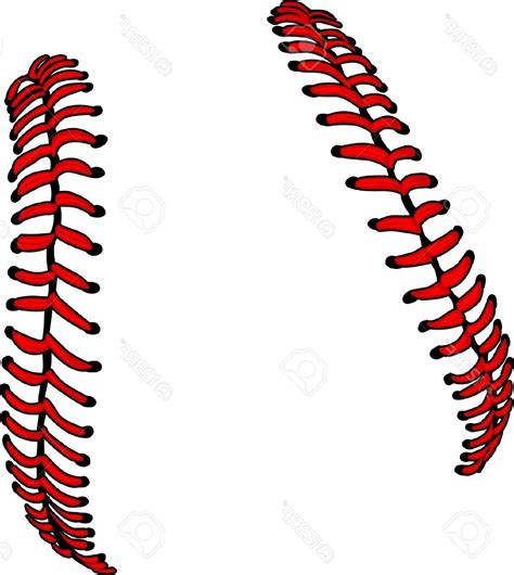 clipart free baseball laces clipart cliparts galleries
