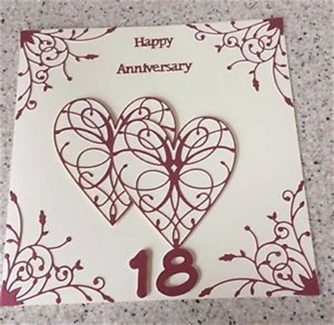 18th Anniversary Card