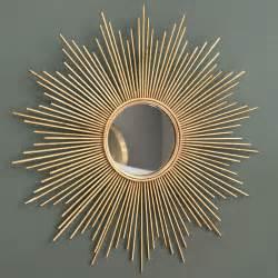 miroir en m 233 tal dor 233 h 99 cm magellan maisons du monde