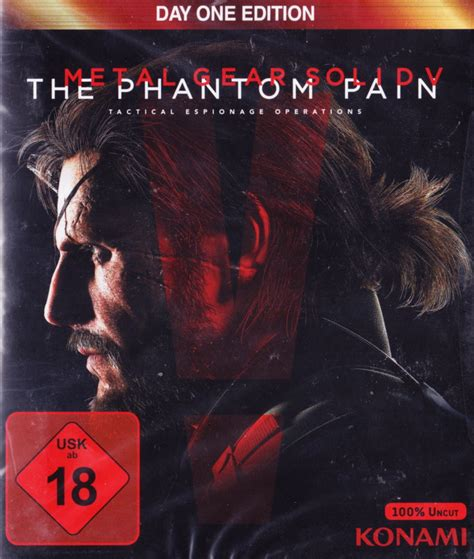 Metal Gear Solid V The Phantom Day One Edition metal gear solid v the phantom day one edition