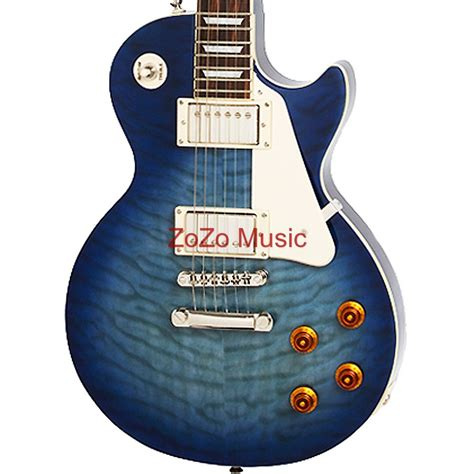 GIBSON EPIPHONE LIMITED EDITION LES PAUL STANDARD QUILT