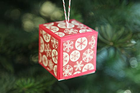 Handmade Paper Ornaments - unify handmade my plans for a diy paper ornament