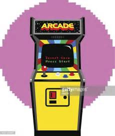 Arcade Cabinet Icon by Amusement Arcade Stock Illustrations And Getty