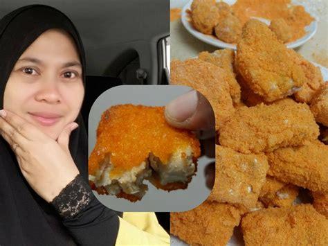 buat nugget ayam sendiri senang je rupanya nak buat nugget ayam homemade tanpa msg