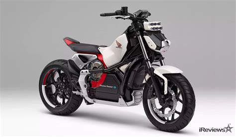 electric motorcycle honda unveils its self balancing electric motorcycle